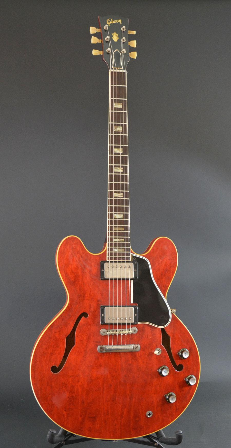 1962 gibson es 335 voltage guitar. Black Bedroom Furniture Sets. Home Design Ideas