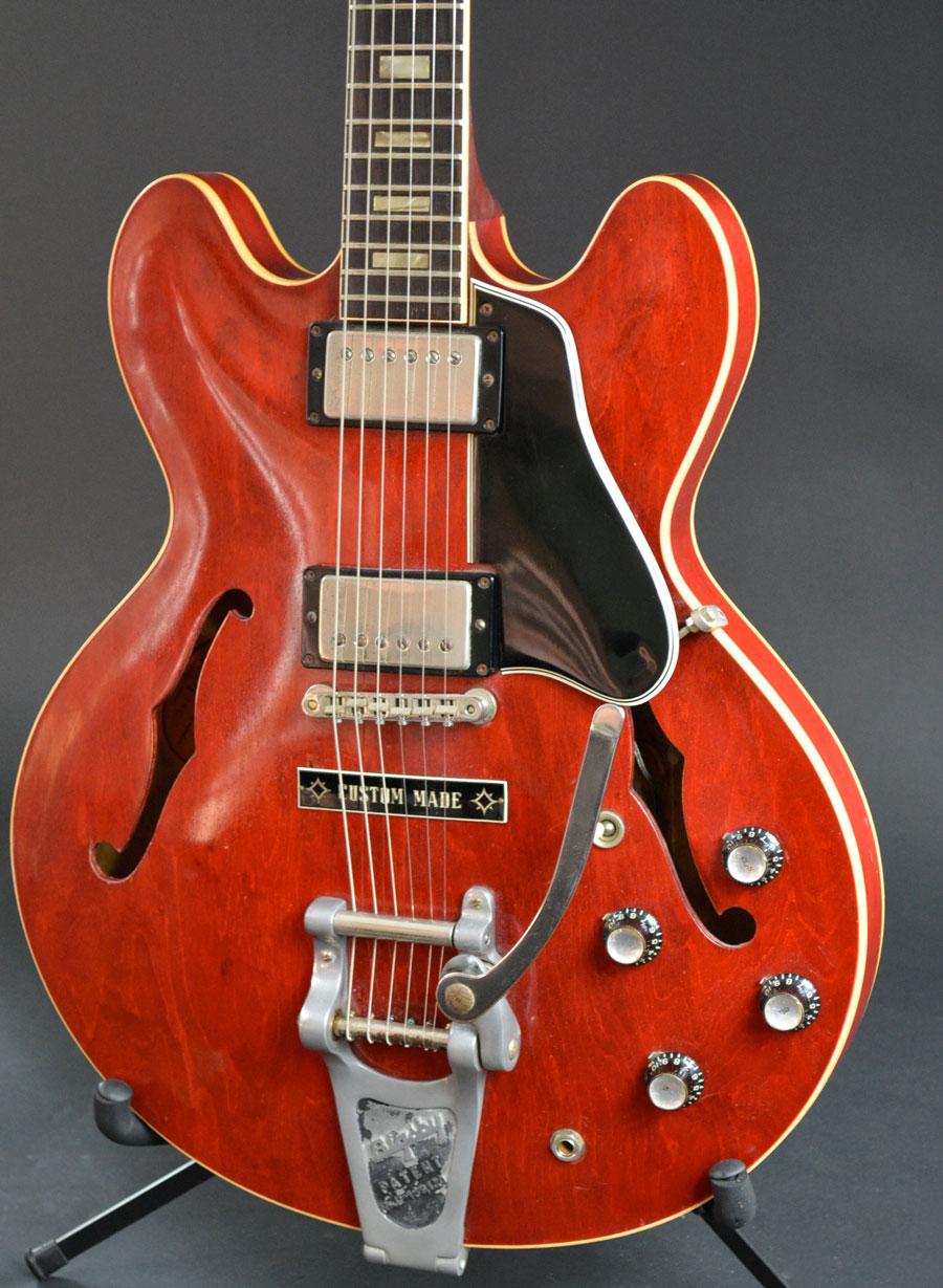 1964 gibson es 335 voltage guitar. Black Bedroom Furniture Sets. Home Design Ideas