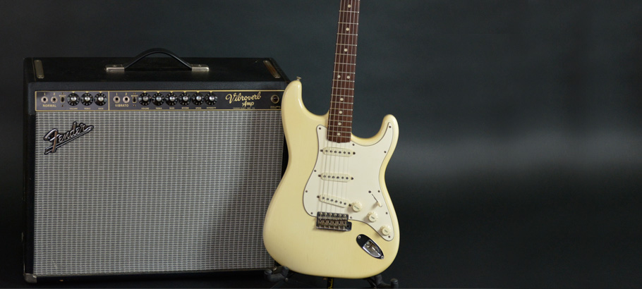 Voltage Guitar | 1964 Fender Olympic White Strat