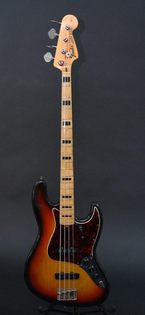 1972 Fender Jazz Bass Voltage Guitar