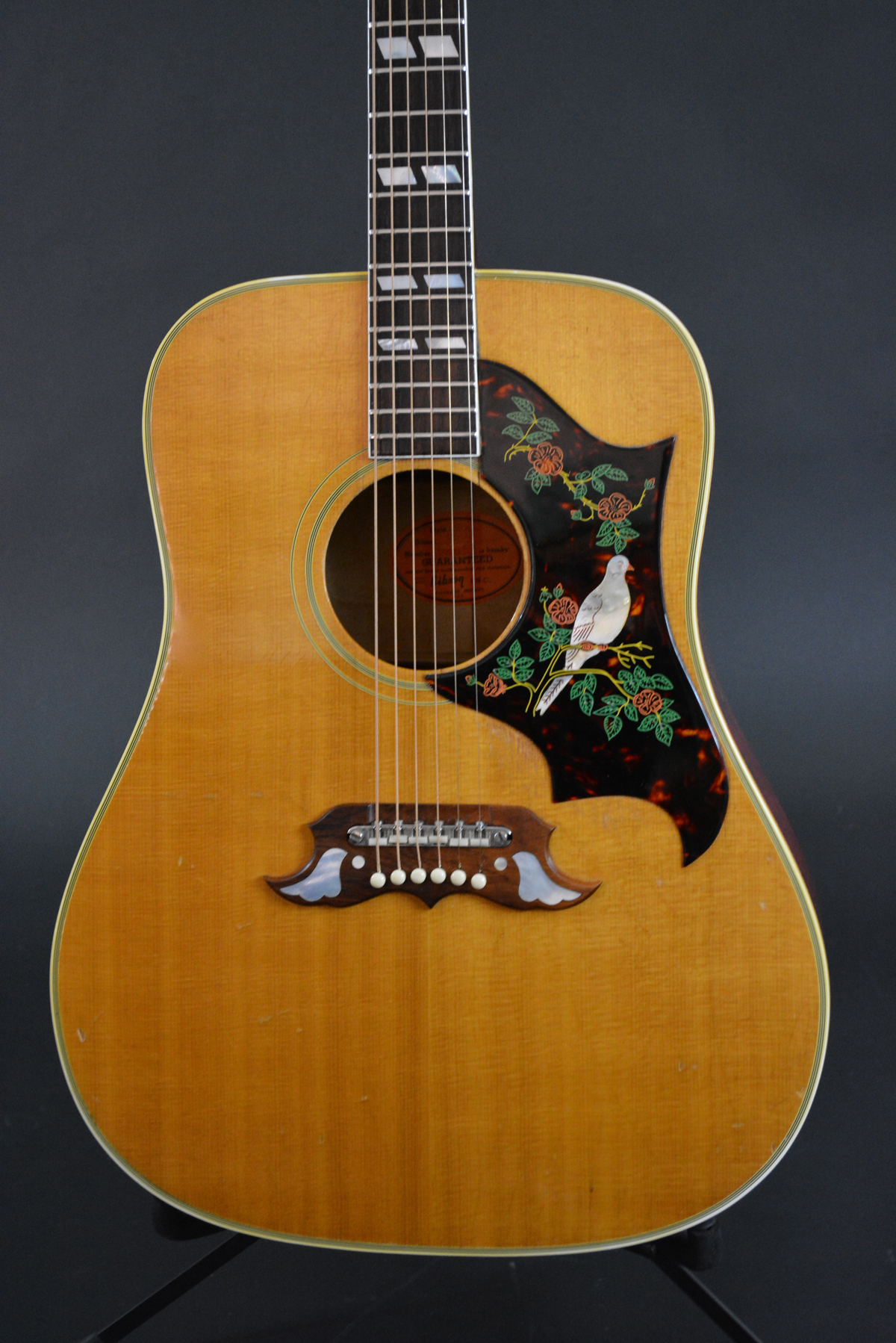 1962 gibson dove voltage guitar. Black Bedroom Furniture Sets. Home Design Ideas