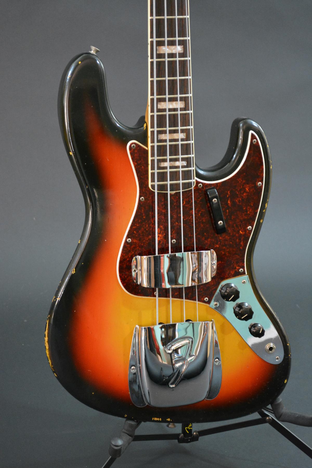1966 Fender Jazz Bass Voltage Guitar